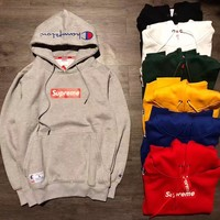 Hoodies Winter Embroidery Long Sleeve Pullover Hats [15192096787]