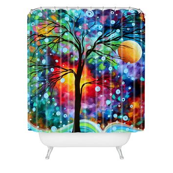 Madart Inc. A Moment In Time Shower Curtain