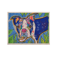 """Rebecca Fischer """"Addy Mae"""" Pug Terrier KESS Naturals Canvas (Frame not Included)"""