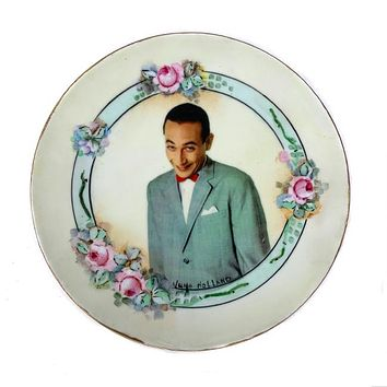 Antique Altered Plate Pee Wee