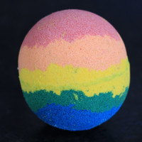 Rainbow Dash Bath Bomb