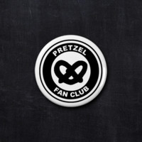 Pretzel fan club button