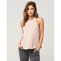 Billabong Women's Seeing Stars Tank Top | Rose Dust | Off Black