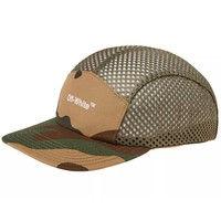 Mesh Camo Hat by OFF-WHITE