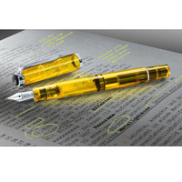 Highlighter Fountain Pen, Set with 30ml Neon Ink - Highlight in style, edit in brilliant colour: The fountain pen for neon ink. - Pro-Idee Concept Store - new ideas from around the world