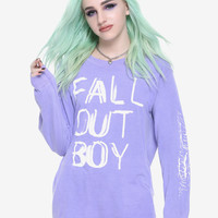 Fall Out Boy Lavender Long-Sleeve T-Shirt