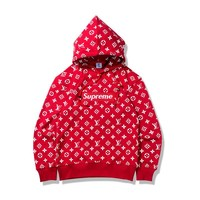Couple Pullover Hoodies Casual Hats Jacket [11218584647]