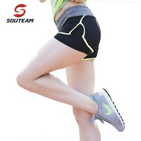 Sport Shorts Lightweight Yoga Shorts Comfortable Fitness Shorts Solid Color