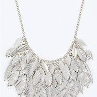 Lovely Leaves Statement Necklace