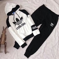 """""""Adidas"""" Hoodie Pants Movement Two-Piece"""