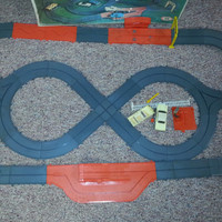 Vintage 1965-1966 Toy Motorific Alcan Highway Torture Track by IDEAL