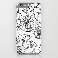 Floral Pattern I iPhone & iPod Case by Christine Hall