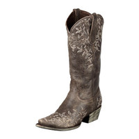 Lane Boots Women's 'Madeline' Brown Cowboy Boots   Overstock.com