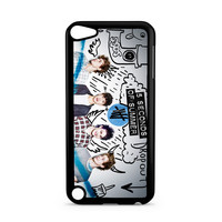 5SOS 5 Seconds of Summer Album blue Ipod Touch 5 Case