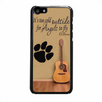 ed sheeran guitar and song quotes case for iphone 5c