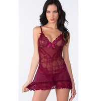 Hot Deal Cute Sexy On Sale Lace Spaghetti Strap Exotic Lingerie [6595646851]