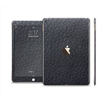 The Black Leather Skin Set for the Apple iPad Air 2