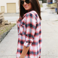 Love And Plaid Button Up