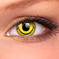Smiley Crazy Contact Lenses (Pair) | Coloured Contact Lenses