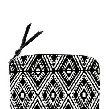 Inca Embroidered Pouch