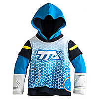 Miles from Tomorrowland Hooded Top for Boys
