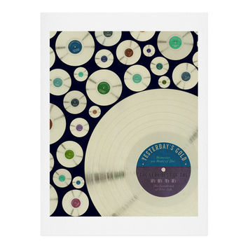Belle13 Evergreen Music Art Print