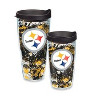 Tervis® NFL Pittsburgh Steelers Splatter Wrap Tumbler with Lid