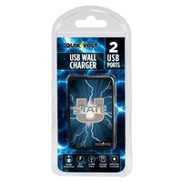 Utah State Aggies WP-200 Dual-Port USB Wall Charger