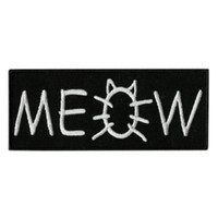 Meow Iron-On Patch