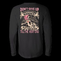 Fairy Tail - DON'T GIVE UP Natsu Dragneel - Unisex Long Sleeve T Shirt - TL01128LS