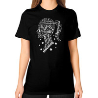 GIRL SCOUTING Unisex T-Shirt (on woman)
