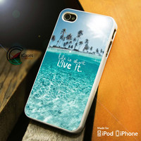 Live Is Short Live It iPhone 4 5 5c 6 Plus Case, Samsung Galaxy S3 S4 S5 Note 3 4 Case, iPod 4 5 Case, HtC One M7 M8 and Nexus Case