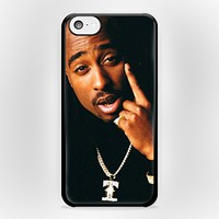 2Pac Tupac Amaru Shakur 11 for iPhone Case (iPhone 5/5s White Plastic)