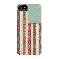 Flag iPhone 5 Case, Boho Chic, Funky Abstract Art case, artist designed iPhone Case, iPhone 5S case