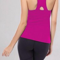 Lululemon Casual Gym Yoga Sport Running Vest Tank Top Cami-8