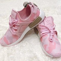 Beauty Ticks Adidas Nmd Xr1 Duck Camo Women Men Running Sport Casual Shoes Sneakers Camouflage Pink