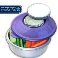 Amazon.com: Stay Fit Snack n Dip, EZ Freeze: Kitchen & Dining