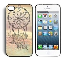 Aokdis New Hot Selling Fashional Individualized Hard Back Case for Iphone 5 5g 5s (Dream Catcher)