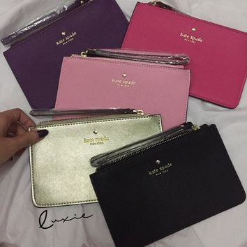 Kate Spade Women Leather Small Bella Pouch