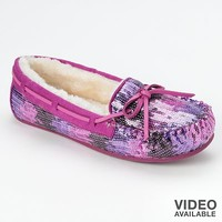SO(R) Sequin Moccasins - Women