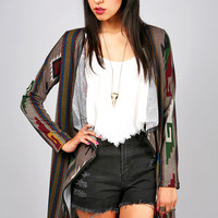 Aztec Dusk Cardigan | Cardigans at Pink Ice