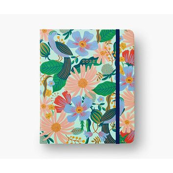 2022 Dovecote Rifle Paper Co. 17-Month Covered Spiral Planner
