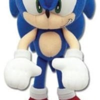 "Great Eastern Entertainment Sonic the Hedgehog Mini 7.75"" Plush"