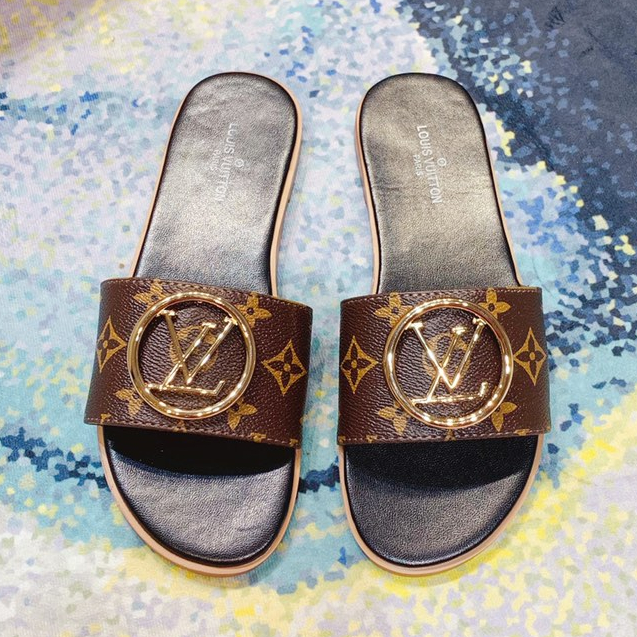 Image of Louis vuttion classic flat slippers