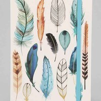 Feather Journal - Gold One