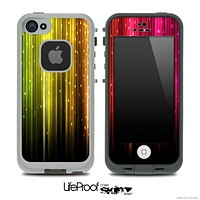 Neon Plats Skin for the iPhone 5 or 4/4s LifeProof Case