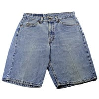 Vintage 1990s 90s Levi Strauss Levis 550 Relaxed Fit Jean Shorts Jorts Made in USA Mens Retro Clothing Size W31 L11
