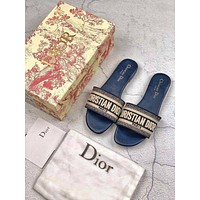 Dior Flat bottom slippers 6 colors-3