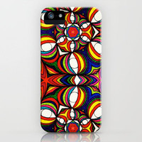 infinite eyes iPhone Case by Mikey Todesco   Society6