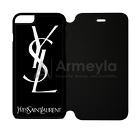 Yves Saint Laurent Ysl iPhone 6 Plus/6S Plus Flip Case | armeyla.com
